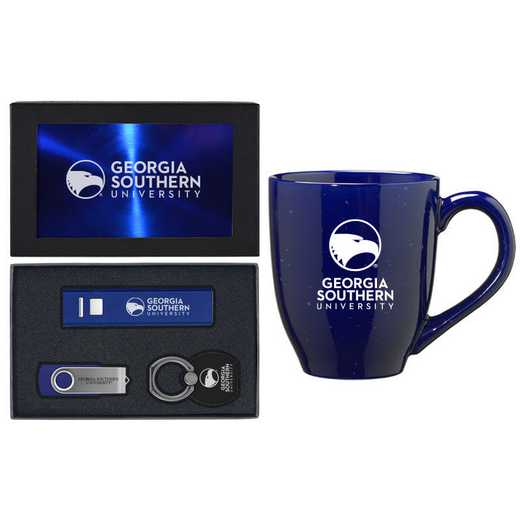 SET-A2-GASTHRN-BLU: LXG Set A2 Tech Mug, Georgia Southern