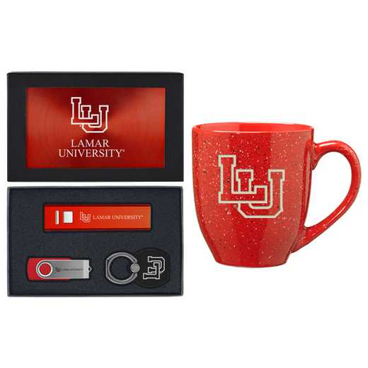 SET-A2-LAMAR-RED: LXG Set A2 Tech Mug, Lamar