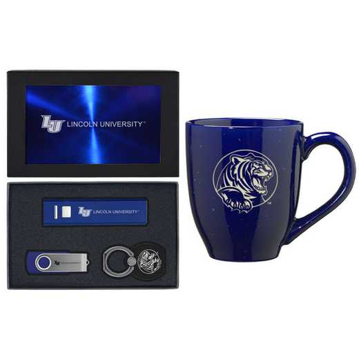 SET-A2-LINCOLN-BLU: LXG Set A2 Tech Mug, Lincoln