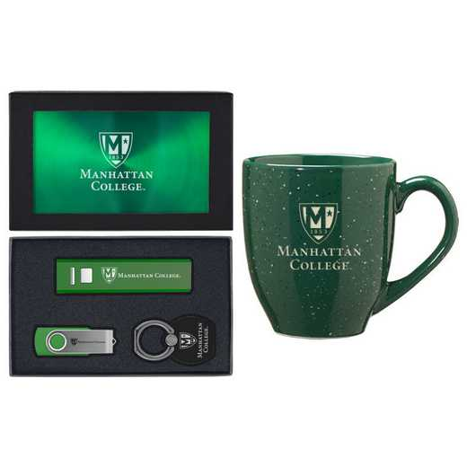 SET-A2-MANHATTAN-GRN: LXG Set A2 Tech Mug, Manhattan