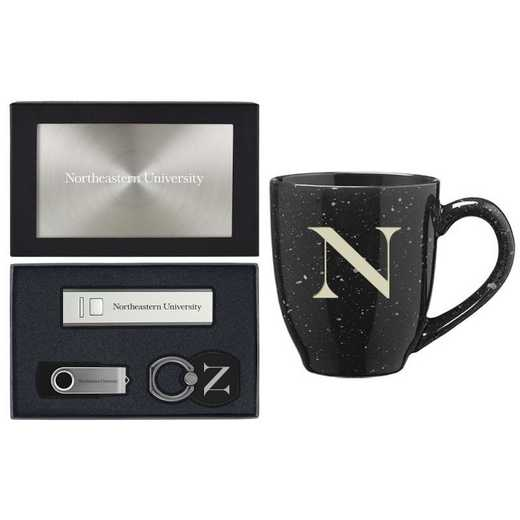 SET-A2-NEASTRN-SIL: LXG Set A2 Tech Mug, Northeastern