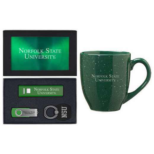 SET-A2-NORFOLK-GRN: LXG Set A2 Tech Mug, Norfolk State