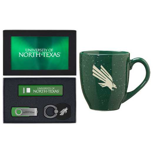 SET-A2-NORTHTX-GRN: LXG Set A2 Tech Mug, North Texas