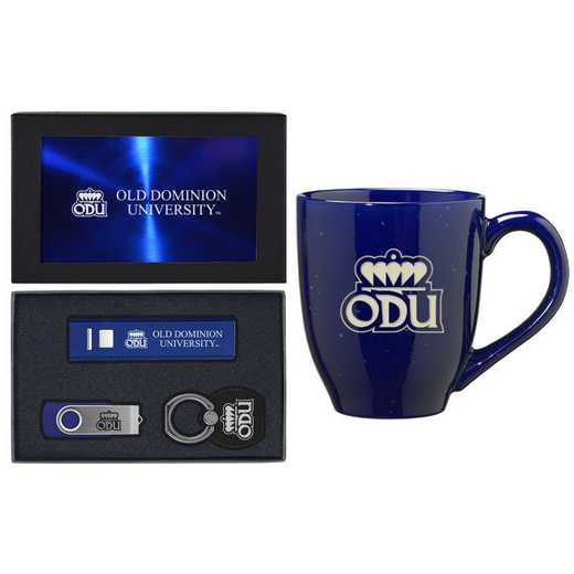 SET-A2-OLDDOMN-BLU: LXG Set A2 Tech Mug, Old Dominion