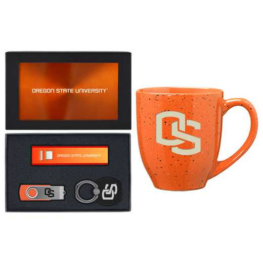 SET-A2-OREGNST-ORN: LXG Set A2 Tech Mug, Oregon State