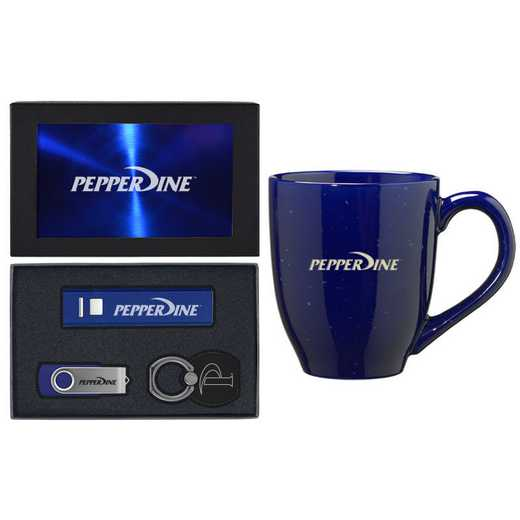 SET-A2-PEPPERD-BLU: LXG Set A2 Tech Mug, Pepperdine