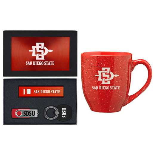 SET-A2-SDSU-RED: LXG Set A2 Tech Mug, California State-San Diego