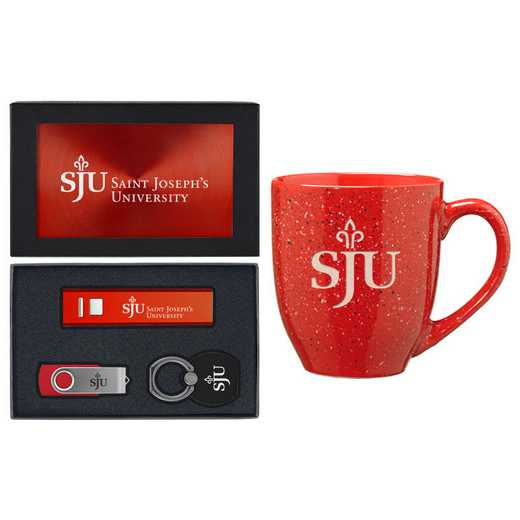 SET-A2-STJOES-RED: LXG Set A2 Tech Mug, Saint Josephs