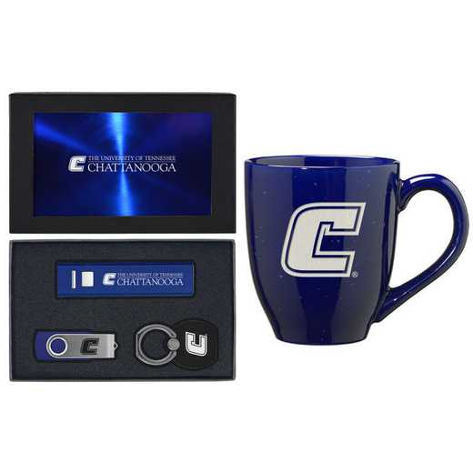 SET-A2-TENCHAT-BLU: LXG Set A2 Tech Mug, Tennessee-Chattanooga