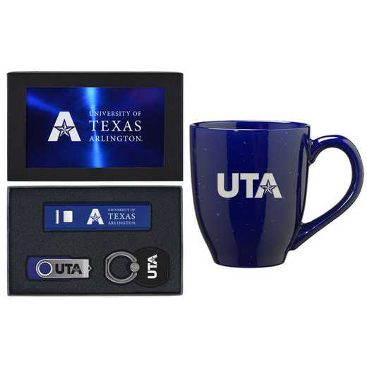 SET-A2-TEXASAR-BLU: LXG Set A2 Tech Mug, Texas-Arlington