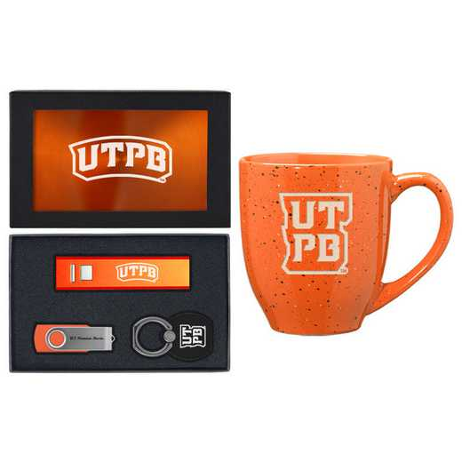 SET-A2-TEXASPB-ORN: LXG Set A2 Tech Mug, Texas-Permian Basin