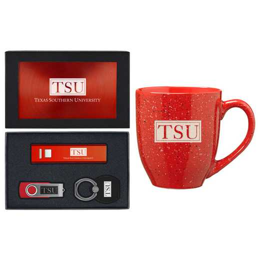 SET-A2-TEXASTH-RED: LXG Set A2 Tech Mug, Texas Southern