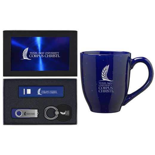 SET-A2-TXCHRST-BLU: LXG Set A2 Tech Mug, Texas A&M-Corpus Christi
