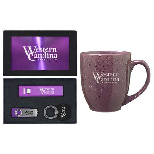 SET-A2-WESTCARL-PURP: LXG Set A2 Tech Mug, Western Carolina