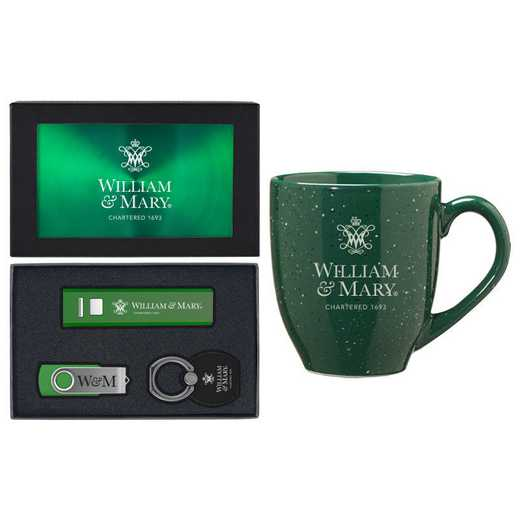 SET-A2-WILLMRY-GRN: LXG Set A2 Tech Mug, William & Mary