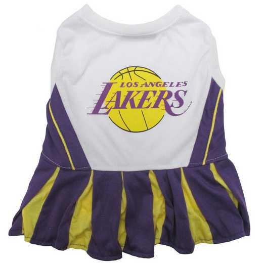 LA LAKERS Pet Cheerleader Outfit
