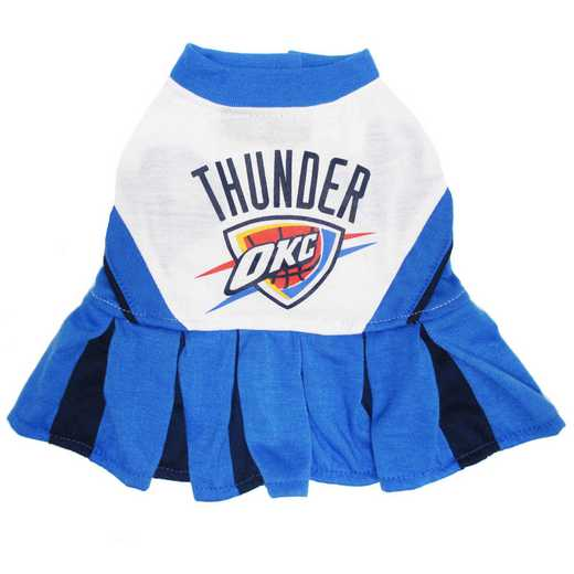 OKC THUNDER Pet Cheerleader Outfit