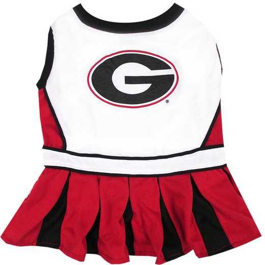 GEORGIA Pet Cheerleader Outfit