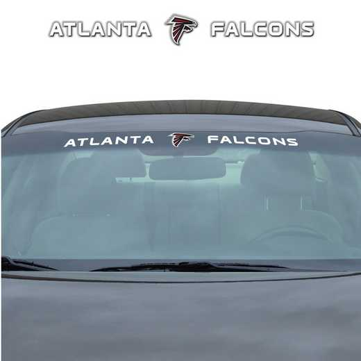 WSDNF02: Atlanta Falcons Auto Windshield Decal