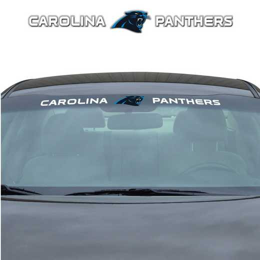 WSDNF05: Carolina Panthers Auto Windshield Decal