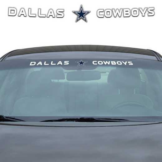WSDNF09: Dallas Cowboys Auto Windshield Decal