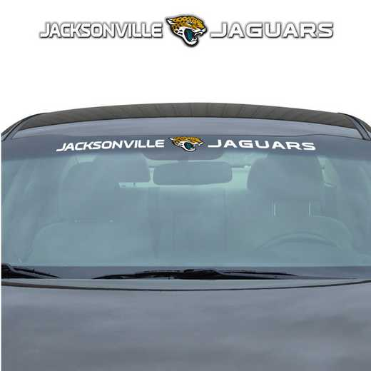 WSDNF14: Jacksonville Jaguars Auto Windshield Decal