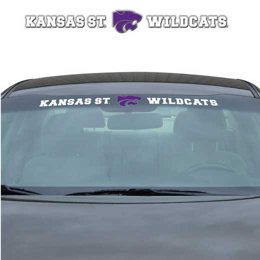 WSDU028: Kansas State Auto Windshield Decal