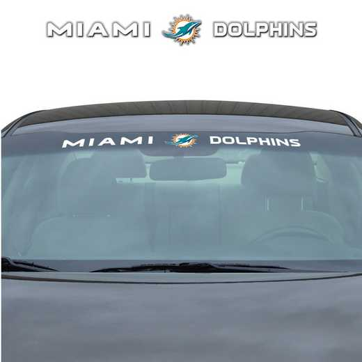 WSDNF16: Miami Dolphins Auto Windshield Decal