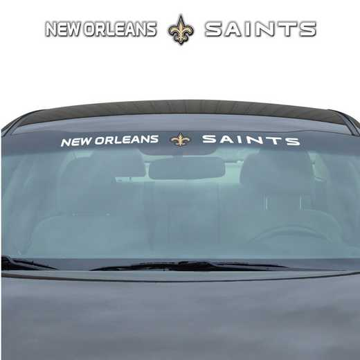 WSDNF19: New OrleansSaints Auto Windshield Decal