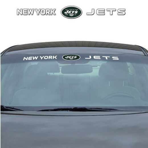 WSDNF21: New York Jets Auto Windshield Decal