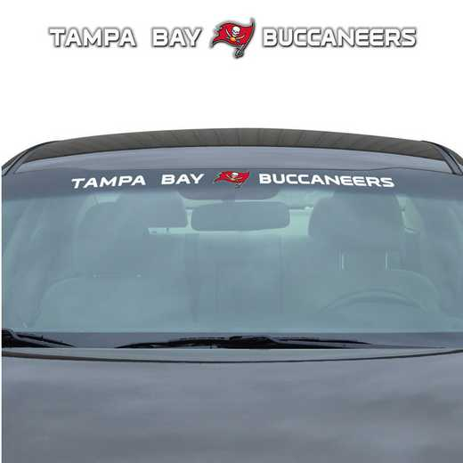 WSDNF29: Tampa Bay Buccaneers Auto Windshield Decal