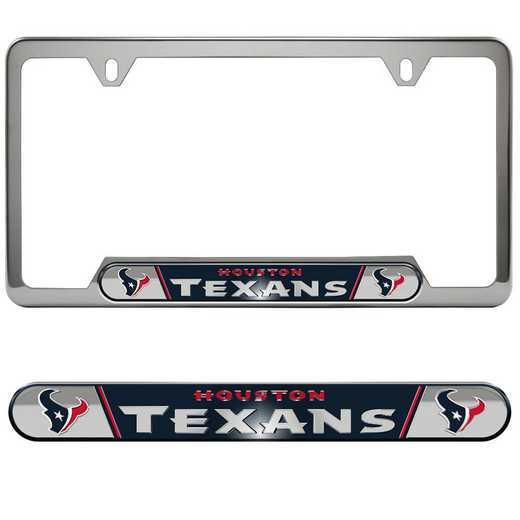 FRUNF32: Houston Texans Auto Tag Frame
