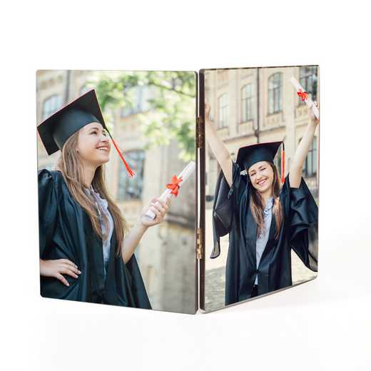 Personalized Wooden Hinged Photo Prints