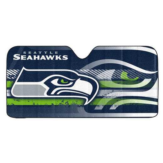 AS2NF27: Seattle Seattlehawks Universal Auto Sun Shade