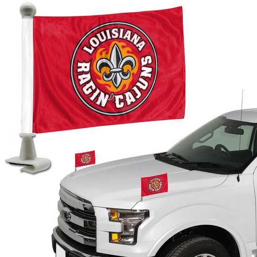 ABFU031: Lousianna @ Lafayette Auto Ambassador Flag Pair