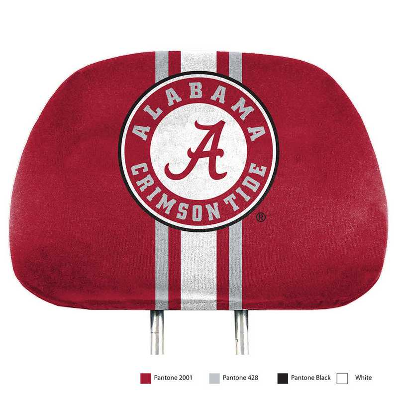HRPU002: Alabama Printed Auto Headrest Cover Set