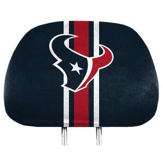 HRPNF32: Houston Texans Printed Auto Headrest Cover Set