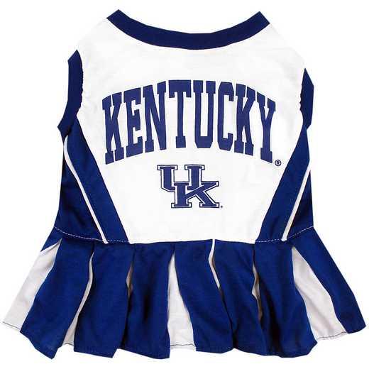 KENTUCKY Pet Cheerleader Outfit
