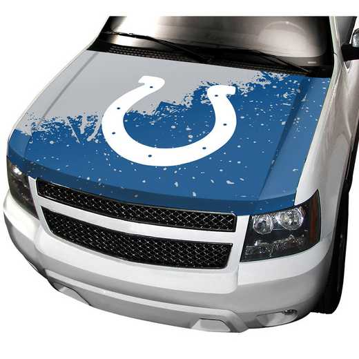 HCNF13: Indiana Colts Auto Hood Cover