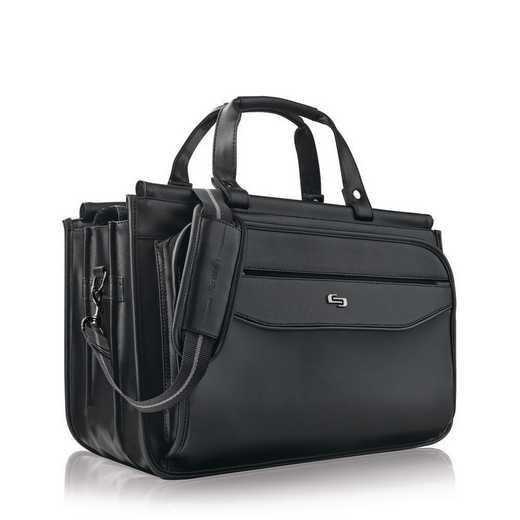 CLS346-4: Solo Harrison Triple compartment Briefcase