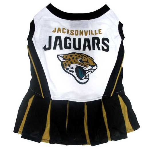 JAC-4007: JACKSONVILLE JAGUARS Pet Cheerleader Outfit