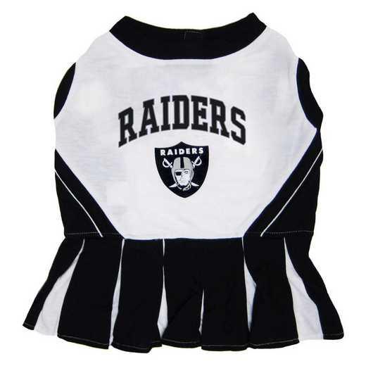 OAK-4007: OAKLAND RAIDERS Pet Cheerleader Outfit