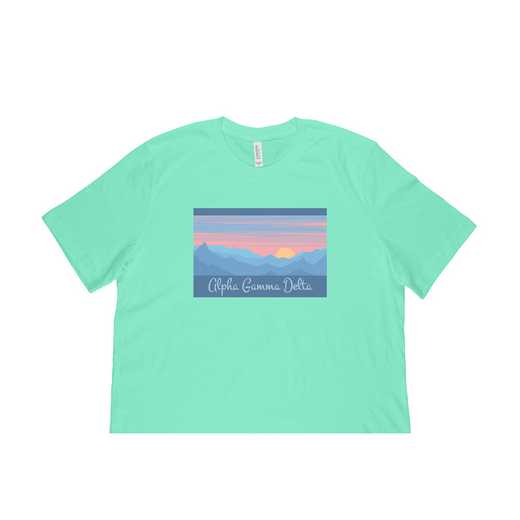 Alpha Gamma Delta Mountain Scene T-Shirt