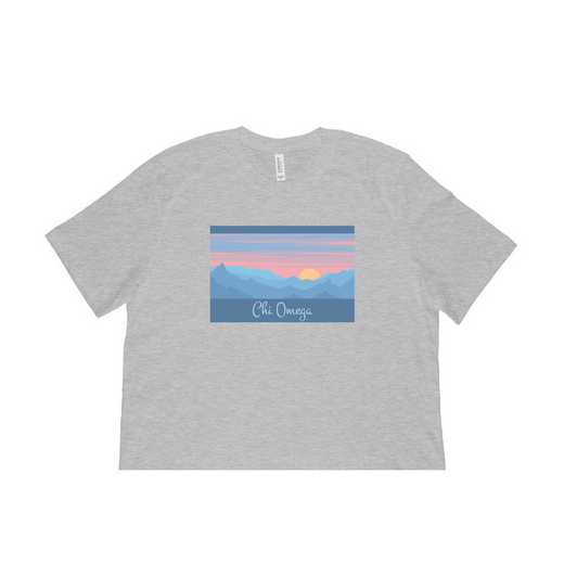 Chi Omega Mountain Scene T-Shirt