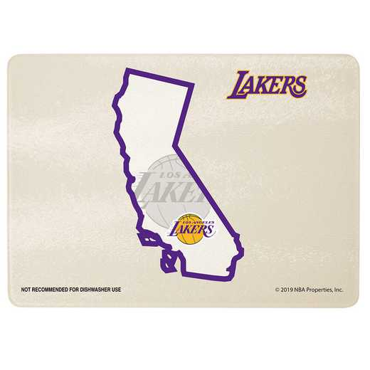 NBA-LAL-2237: CUTTING BRD SOM LAKERS
