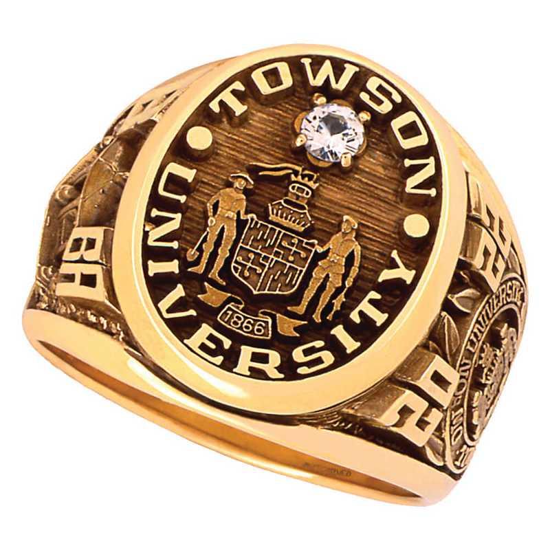 Towson University Collegian Ring - Men's